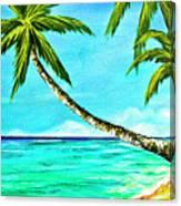 Sunset Beach#370  Canvas Print