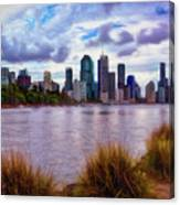 Sunset Brisbane Canvas Print