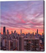 Sunset Burn Canvas Print