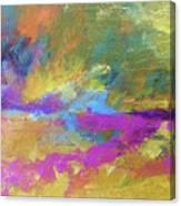 Sunset Burst Canvas Print
