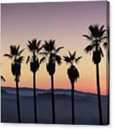 Sunset By La Canvas Print