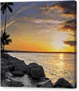 Sunset Caribe Canvas Print