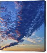 Sunset Cloud Formation Canvas Print