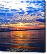 Sunset Colors Canvas Print