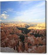 Sunset Colours Bryce Canyon 2 Canvas Print