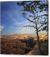 Sunset Colours Bryce Canyon 3 Canvas Print