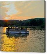 Sunset Cruising Canvas Print