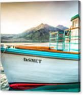 Sunset Dinner Cruise Canvas Print