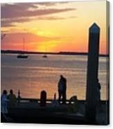 Sunset Embrace Canvas Print