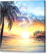 Sunset Exotics Canvas Print