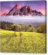 Sunset Fields Canvas Print