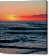 Sunset For Mia H A Canvas Print