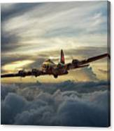 Sunset Fortress Canvas Print