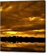 Sunset Gold Canvas Print