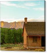 Sunset Grafton Ghost Town Canvas Print