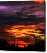 Sunset H16 Canvas Print