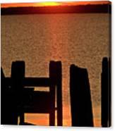 Sunset Hecla Island Manitoba Canada Canvas Print