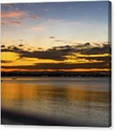 Sunset In Dar Canvas Print