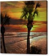 Sunset In Florida Canvas Print