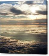 Sunset In Heaven Canvas Print