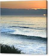 Sunset In La Jolla Canvas Print
