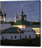 Sunset In Suzdal Canvas Print