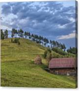 Sunset In The Carpathians Canvas Print