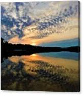 Sunset In The Pinelands  Canvas Print