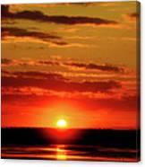 Sunset. Canvas Print