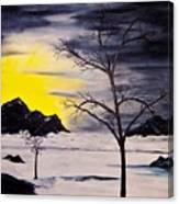 Sunset Kronos 3 Canvas Print