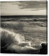 Sunset - La Jolla Cove Canvas Print