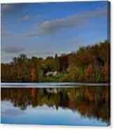 Sunset Lake View Canvas Print