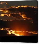 Sunset M 106 Canvas Print
