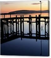 Sunset Magic Bodega Bay California Canvas Print