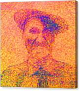 Sunset Man Canvas Print