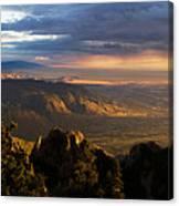 Sunset Monsoon Over Albuquerque Art Print By Matt Tilghman