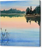 Sunset No.1 Canvas Print