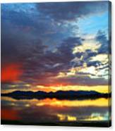 Sunset Of Colors Canvas Print