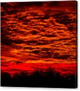 Sunset Of New Mexico Canvas Print