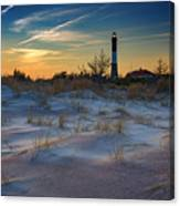 Sunset On Fire Island Canvas Print