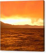 Sunset On Lake Tahoe, California Canvas Print