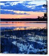 Sunset On Porcupine Lake Canvas Print