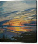Sunset On St. Andrew Canvas Print