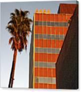 Sunset On Sunset Blvd Canvas Print