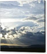 Sunset On The Mara Canvas Print