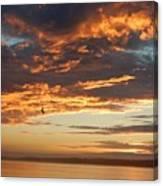 Sunset Oregon Canvas Print