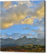 Sunset Over Dallas Divide Canvas Print