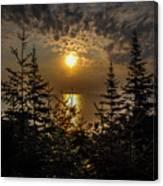 Sunrise Over Lake Huron Canvas Print