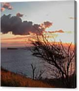 Sunset Over Lanai 2 Canvas Print