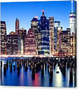 Magic Manhattan Canvas Print